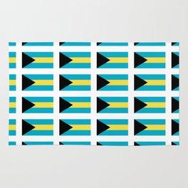 flag of Bahamas – Nassau,Bahamian,Bahamianese,Junkanoo,Regattas Rug