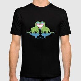 Trans Pride - Dino Love T-shirt