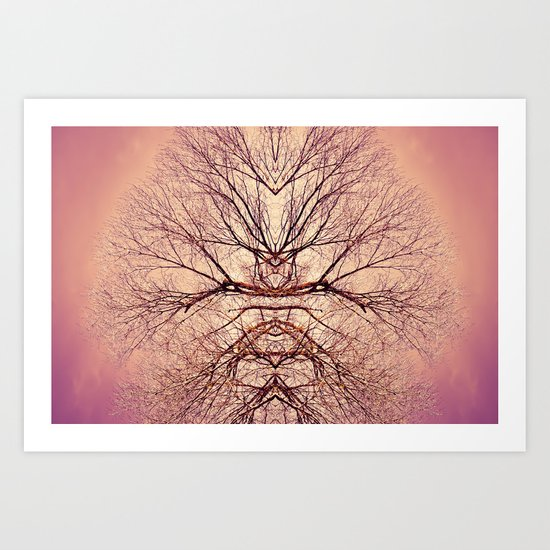 Magic tree #1 Art Print