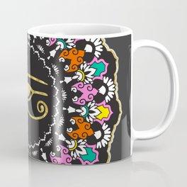 Eye of Horus Mandala Coffee Mug