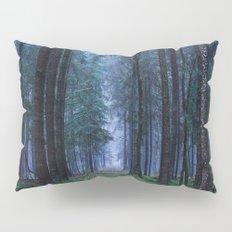 Green Magic Forest Pillow Sham
