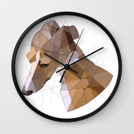 Italian Greyhound Wall Clock