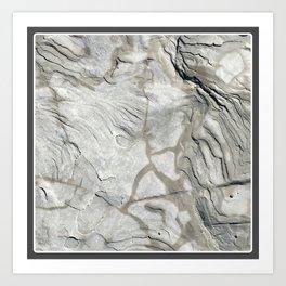 Bay of Fundy Rock No.1 | Texture | Nadia Bonello | Canada Art Print