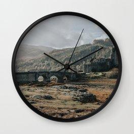Eilean Donan Castle - Scotland Wall Clock