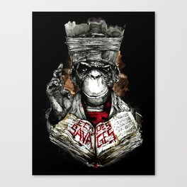 Echoes of Savages Canvas Print