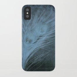 Peacock Abstract iPhone Case