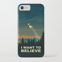 i want to believe iPhone & iPod Cases featuring I want to believe by mangulica