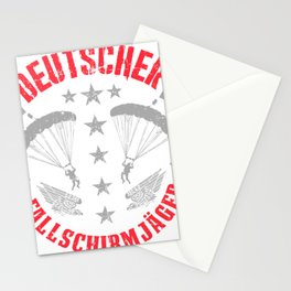 German Paratrooper Stationery Cards