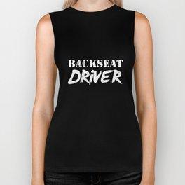 Retro Backseat Driver TShirt Roadtrip Travel Camping Biker Tank