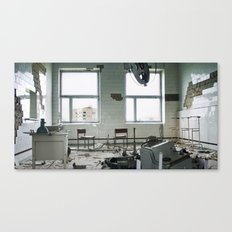Chernobyl - лікарня IV Canvas Print