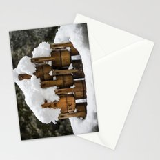 Kyoto Winter 2015 III (water buckets)  Stationery Cards