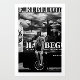 Rebelution Art Print