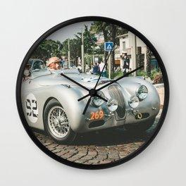 Jaguar XK 120 M Competition 1952 Wall Clock