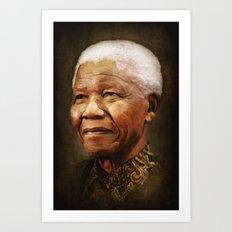 Mandela Art Print
