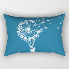 Going where the wind blows Rectangular Pillow