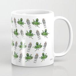 Aliens & Astronauts pattern Coffee Mug