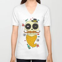 halloween V-neck T-shirts featuring Halloween by ari-s
