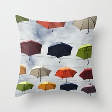 What color are you ? Throw Pillow