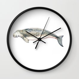 Dugong Wall Clock