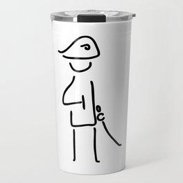 Napoleon the military officer Travel Mug