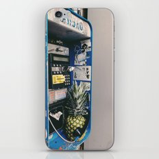 Pineapple on the phone iPhone & iPod Skin