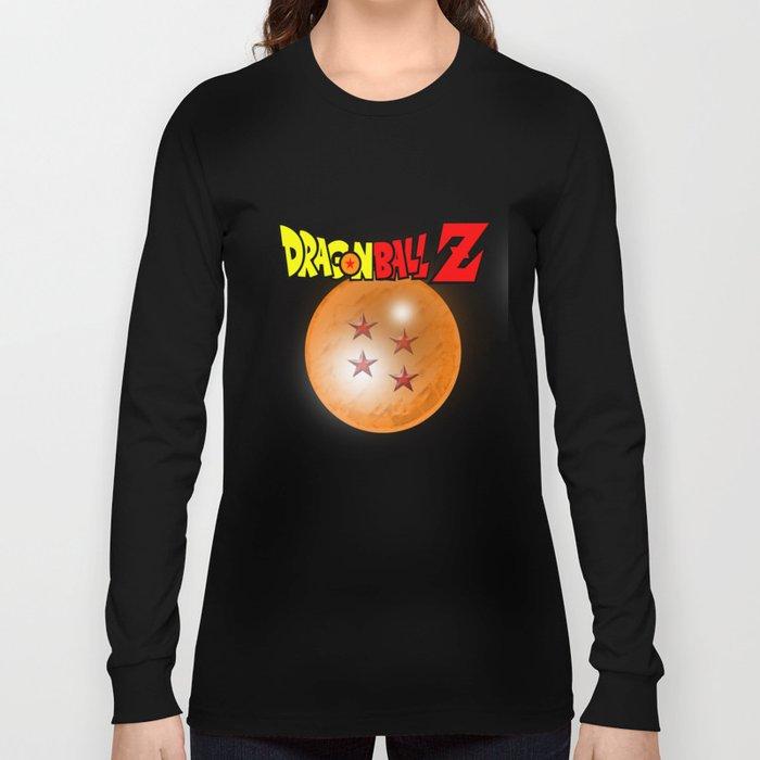 e1ee4fa8 Dragonball Z, 4 star Long Sleeve T-shirt by metalot | Society6