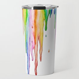 Colorful Icicles Travel Mug