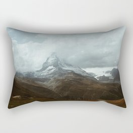 Swiss Alps Rectangular Pillow