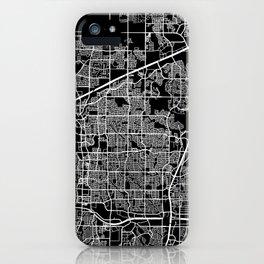 plano map texas iPhone Case