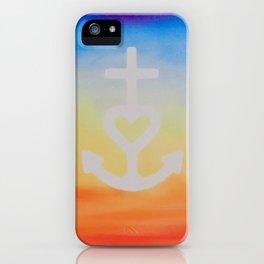 Faith, Hope & Love iPhone Case