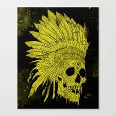 Kid Chief Canvas Print