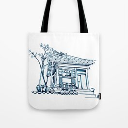 Hanok Morning Tote Bag