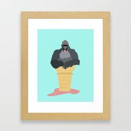 GorillaCone Framed Art Print