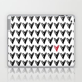 HEARTS ALL OVER PATTERN V Laptop & iPad Skin