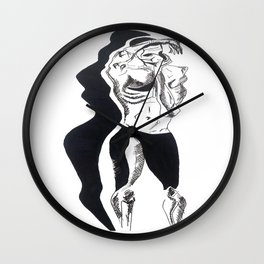 shadow attack three Wall Clock