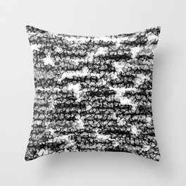 Spidery Lines Throw Pillow
