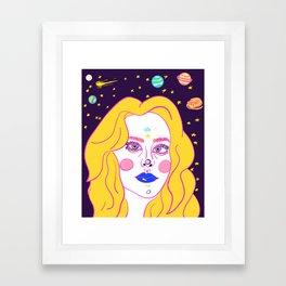 Libra Holiday  Framed Art Print