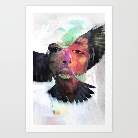 Faith or Flight? Art Print