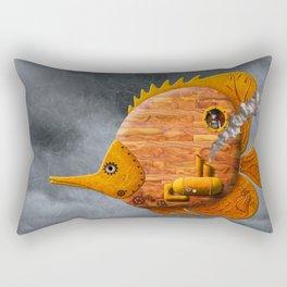 Steampunk Butterflyfish II Rectangular Pillow