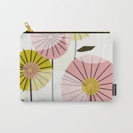 Abstract Summer Flowers Carry-All Pouch