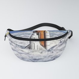 2030 Space Mission to Mars Portrait Fanny Pack