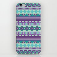 aztec iPhone & iPod Skins featuring Aztec by Arcturus