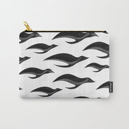 Painted Penguins Carry-All Pouch
