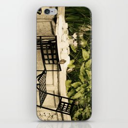 Dining Sparrows iPhone Skin