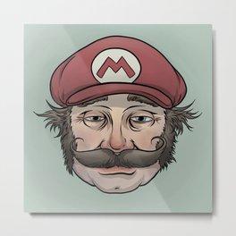 It'sa Me! Mario! Metal Print