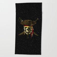 Style Skull Pirates Beach Towel