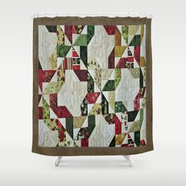 Prize Winning Quilt Shower Curtain