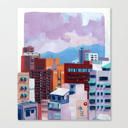 Taipei III Canvas Print