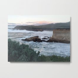 Last Light on the Bluffs Metal Print