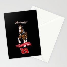 One more #NASCAR Kevin Harvick RCR Bud design by #ScottBates @ernhrtfan Stationery Cards